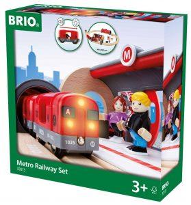 Brio - 33513 - Jeu de Construction - Circuit Metro